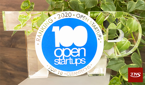TNS é eleita a Startup número #1 no segmento CleanTechs