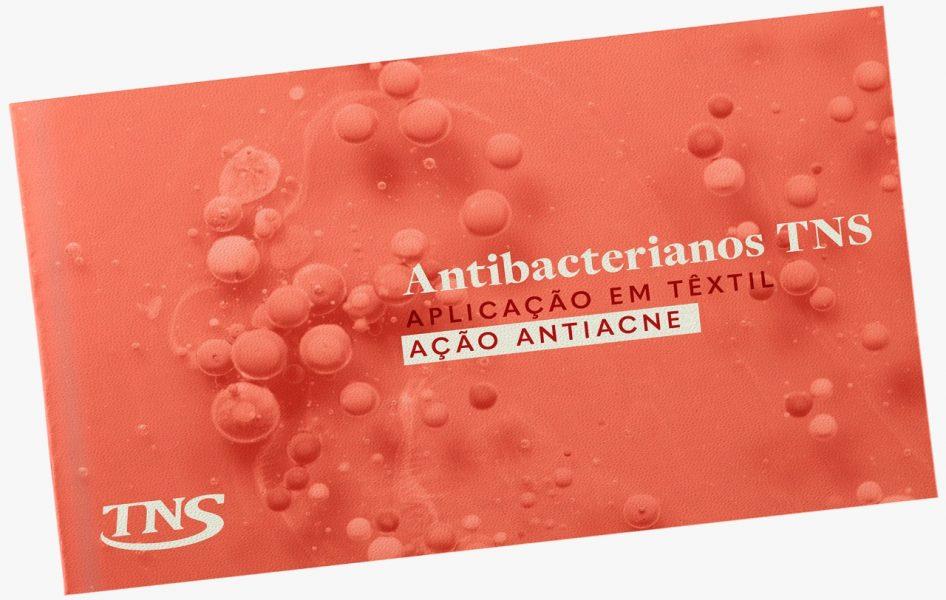 Antibacterianos TNS: Aplicação em têxtil para ação antiacne