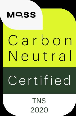 TNS_Selo de Neutralização pegada de carbono - MOSS (2020)