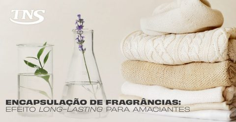 Fragrance encapsulation: long lasting effect for softeners